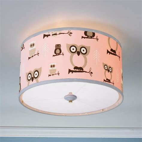 Baby Ceiling Light Show Ceiling Light Baby Ceiling Lights Owls Drum Ceilings Lighting This Owl Shade Will Make