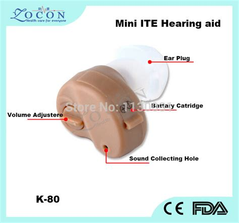 Hearing Aid Axon K 80 1 axon k 80 mini ite hearing aid aids sound lifier ce approval small ear invisible ear