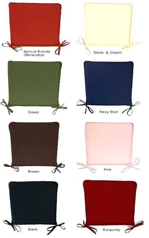 Dining Chair Cushions With Ties Black Chair Pads With Ties Kitchen Chair Pads With Ties Small Kitchen Pantry Ideas Check More At