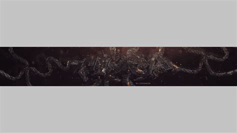 free youtube one banner with background by cristidfs on