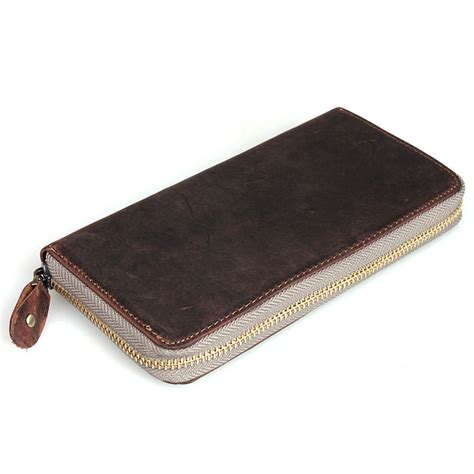 Handmade Wallet Leather - handmade antique leather wallet checkbook wallet