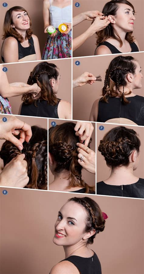 Braided Hairstyles For Hair Tutorials by Gallery Hair Updos Tutorial