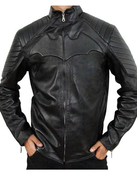 batman begins leather jacket  christian bale ujackets