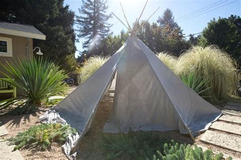 backyard teepee 17 best images about outdoor play on pinterest this