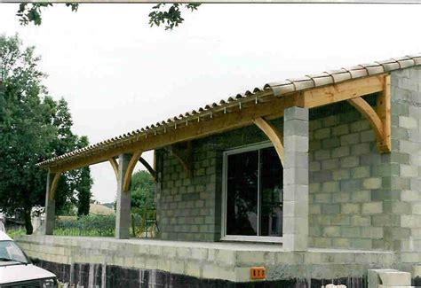 ma terrasse n a pas de pente creation d une terrasse couverte charpente