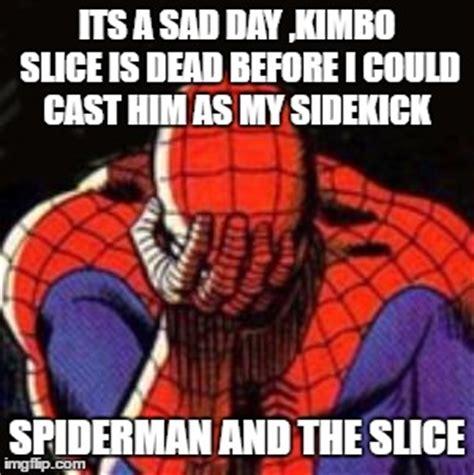 Kimbo Slice Meme - sad spiderman memes imgflip
