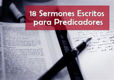 Sermones Cristianos Escritos Predicas Y Sermones | 18 sermones escritos para predicadores recursos adventistas