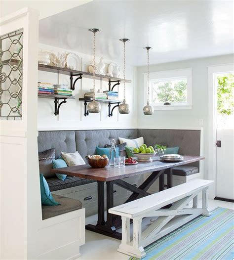 breakfast nook banquette seating nooks breakfast nooks and style on pinterest