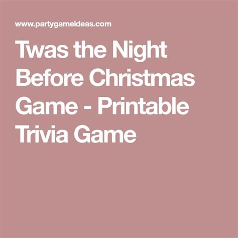 the night before christmas movie trivia best 25 trivia ideas on trivia trivia and