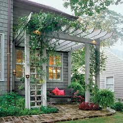 Arbor Pergola by Inspiration Create A Summer Oasis The Inspired Room