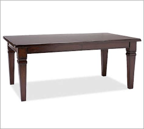 copy cat chic pottery barn montego dining room table