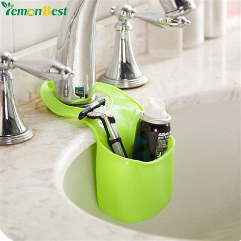 toiletries holder bathroom creative kitchen bathroom sink sponge storage rack basket