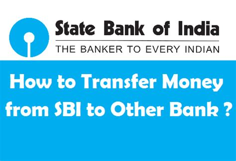 can i transfer money from bank to bank how to transfer money from sbi to other bank