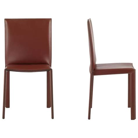Italian Leather Dining Chairs Modern Lc03 Italian Leather Chair Modern Design Made In Italy New For Sale At 1stdibs