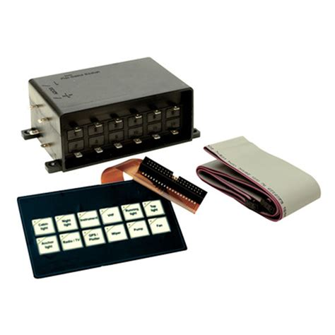 marine switch panel canada seachoice 174 flex membrane touch pad switch panel 198751