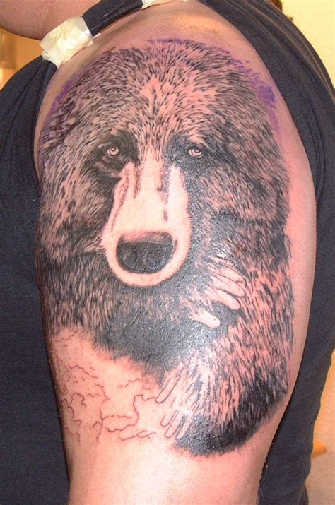 bear tattoo tattoos ideas