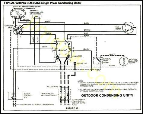 outside a c condenser unit wiring diagram wiring diagram