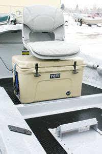 cooler seat for a boat yeti cooler