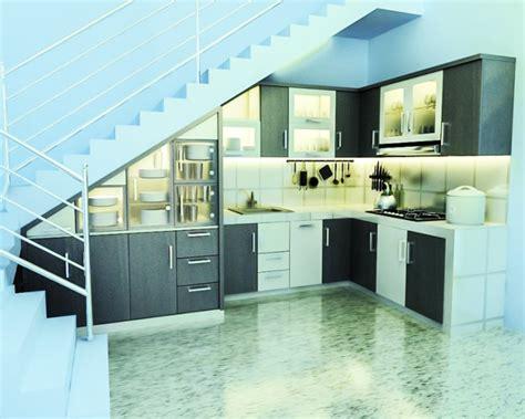 desain dapur minimalis bawah tangga 10 desain dapur minimalis di bawah tangga terkini lihat