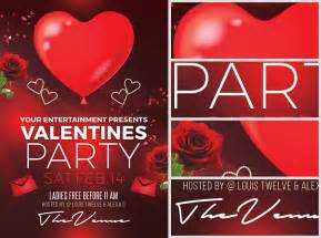 Templates For Valentines by S Day Flyer Template Flyerheroes