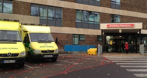 portsmouth hospital fined  waiting times capital