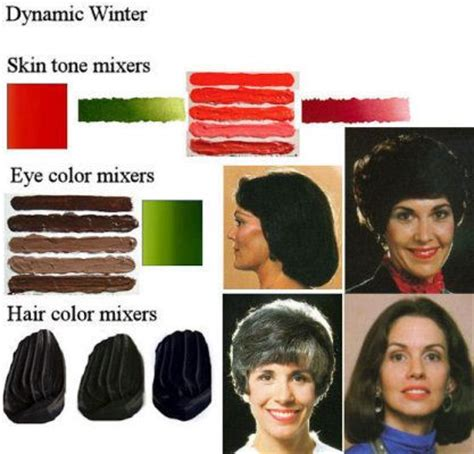 hair color for winter complexion winter coloration dynamic winter skin tone color cadmium