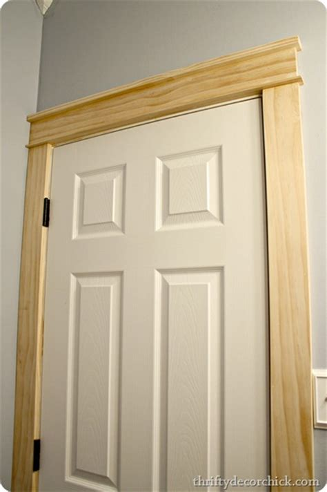 interior trim styles diy craftsman door trim from thrifty decor chick