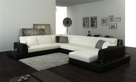 trend of black and white sectional sofas 20 for