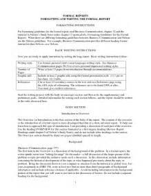 Short Business Report Template 100 Original Writing A Short Report Template