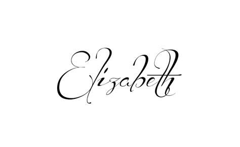 tattoo lettering elizabeth make it yourself online tattoo name creator font