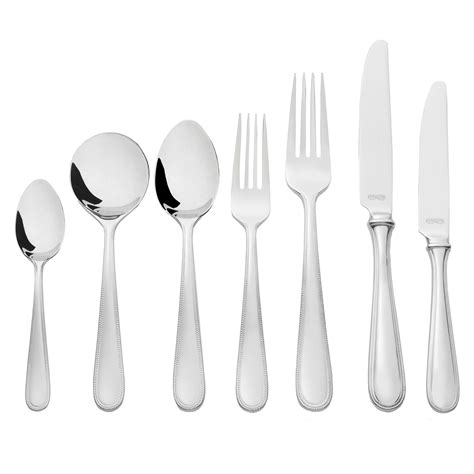 cuterly set silver cutlery flatware sets vera wang cutlery