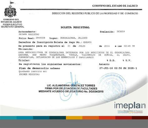 el registro de la imeplan on twitter quot el potmet ha quedado inscrito en el registro p 250 blico de la propiedad y de