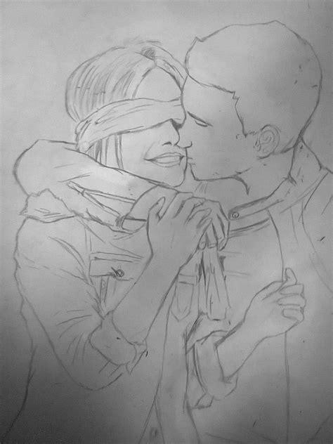 imagenes a lapiz faciles de amor dibujo de amor taringa