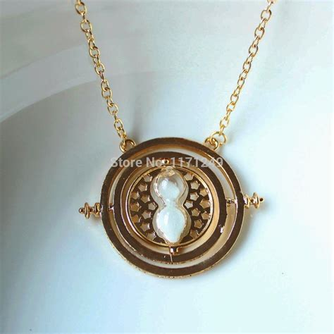 2014 new arrival 24k gold plated harry potter necklace