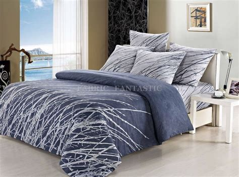 100 Cotton Esha Tree Double Size Bed Duvet Doona Quilt Size Bedding