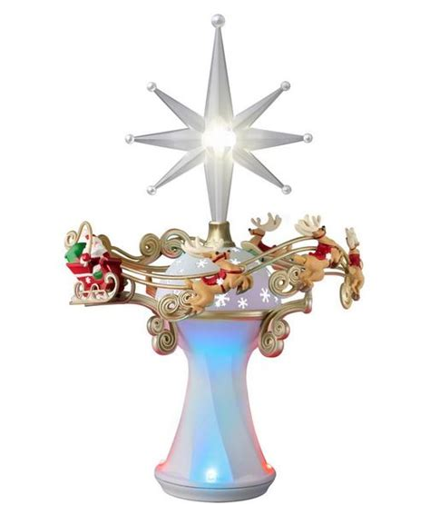 2014 here comes santa claus tree topper hallmark keepsakes