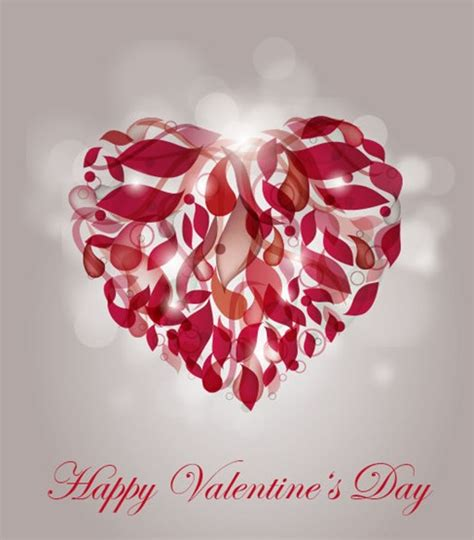 valentines day arbor abstract for valentines day free vector graphics