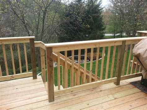 railing options all decked out 513 llc