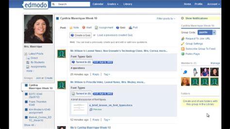 edmodo tutorial deutsch edmodo quiz on vimeo