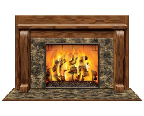 Instant Fireplace by Instant View Fireplace Prop Winter Decorations