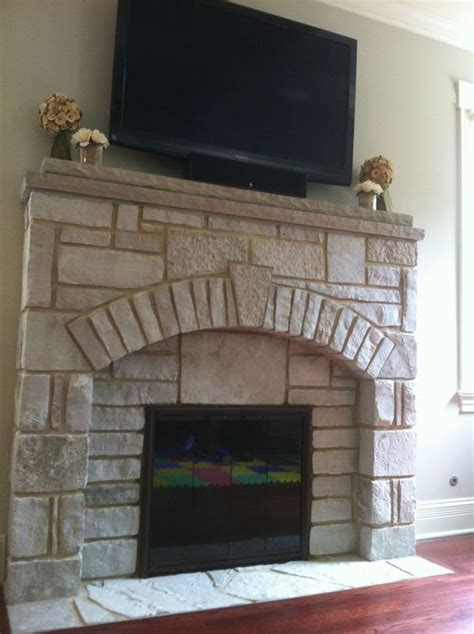 Tv Above Wood Burning Fireplace by Wood Burning Fireplaces Wood Burning And Flagstone On