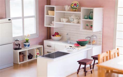 Barbie Dining Room Set Diy Dollhouse Miniature Kitchen For Nendoroid Dolls