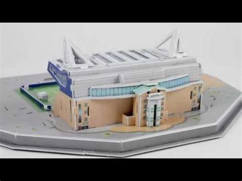 Diskon Puzzle Miniatur Stadion Stamford Bridge Chelsea puzzle 3d stadion stamford bridge chelsea fc trefl nanostad