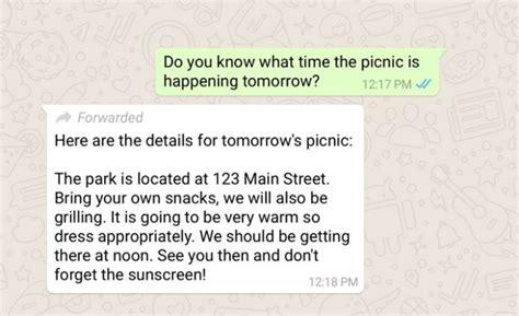 para que sirven las cadenas falsas de whatsapp whatsapp etiquetar 225 los mensajes reenviados para evitar
