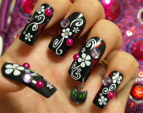 Different Types Of Fancy Nail Designs different types of creative nail designs