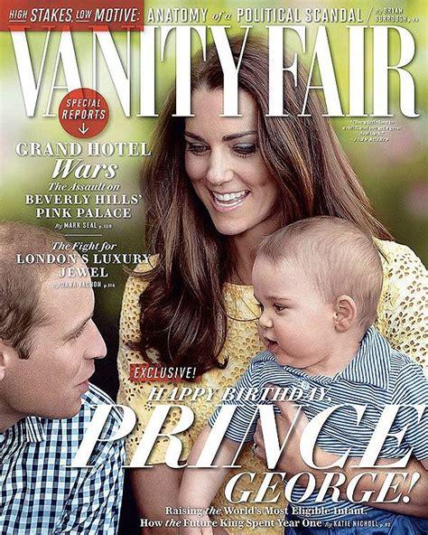 sulla vanit il principe george sulla cover di vanity fair gossip it