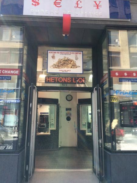 bureau de change montreal bureau de change montr 233 al qc 477 rue sainte