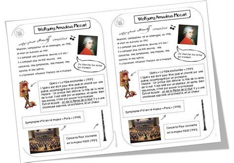 0043045138 la lecture musicale par l education fiches compositeurs histoire des arts pinterest