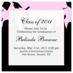 Graduation Invitation Templates Free Word by Free Graduation Invitation Announcement Black