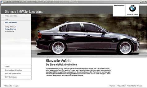 Bmw 3er Werbung by Foto Bmw 3er Konfigurator Mit Fotorealistischen